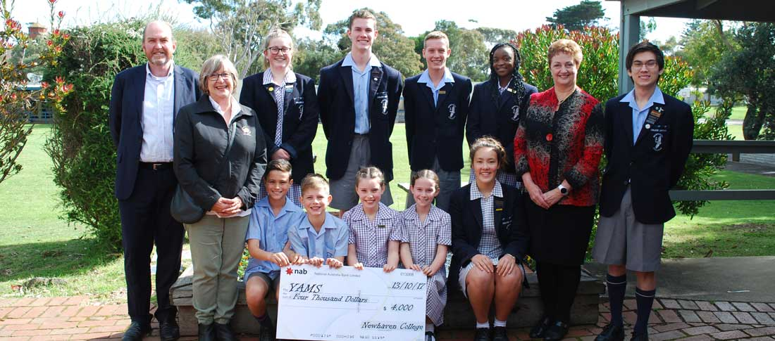 Students Raise $4000 for YAMS
