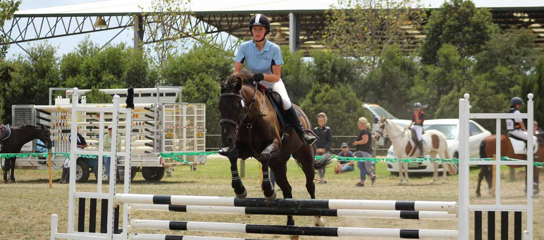 Equestrian Team Jumps into 2018