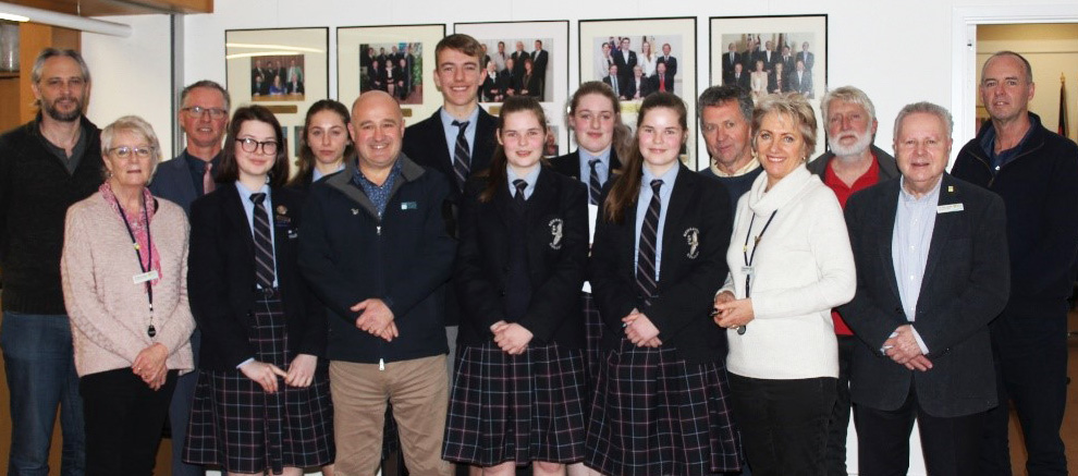 Youth Parliament Impresses Council